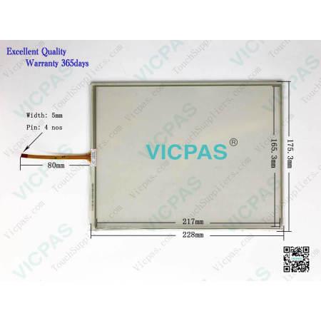 T010-1201-X111-04-NA 1201-X111/04-NA Touch Screen Panel Glass Repair