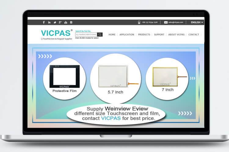MT6400T-CAN MT6500T MT6500T-CAN SLEEK-7 SLEEK-8 Touchscreen Glass