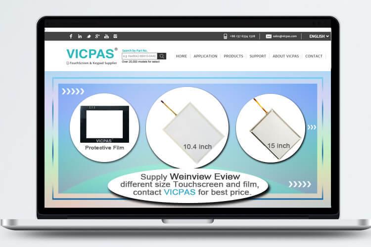 9MMI-720-V4 MMI-750-TL-V5 AMB-513 MMI-6070-SLE Touch Screen Glass