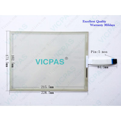 47-F-4-104-083 R1.3 08360238 Touch Panel T09.00294.01 140706.000063 Touchscreen
