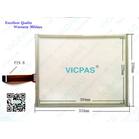 Kienzle Systems S09.00663.03 103003000371 Touch Screen Panel