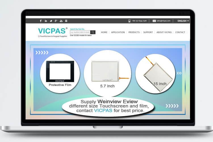 RMI5001 RMI5010 RMI5090 Touch Screen Pane Replacement