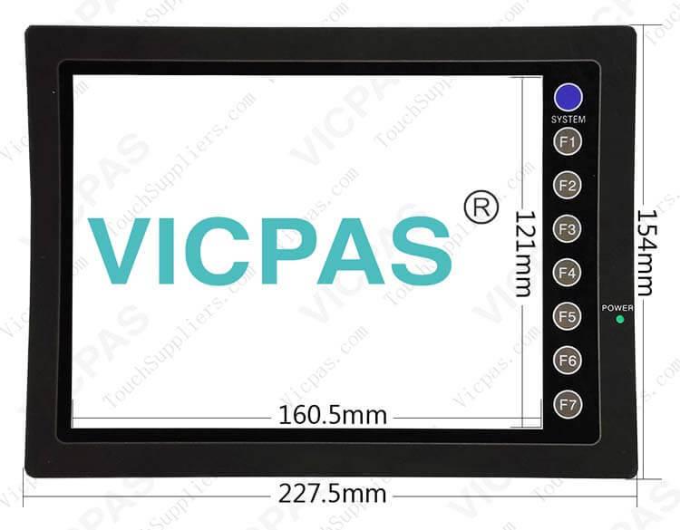 V608CH V608CH1 V608CH2 V608CH3 Protective film overlay