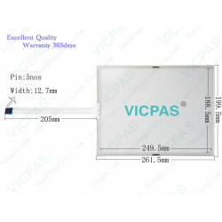 AMT-28275 91-28275-001 Touch Screen AMT28275 AMT 28275 Touch Panel