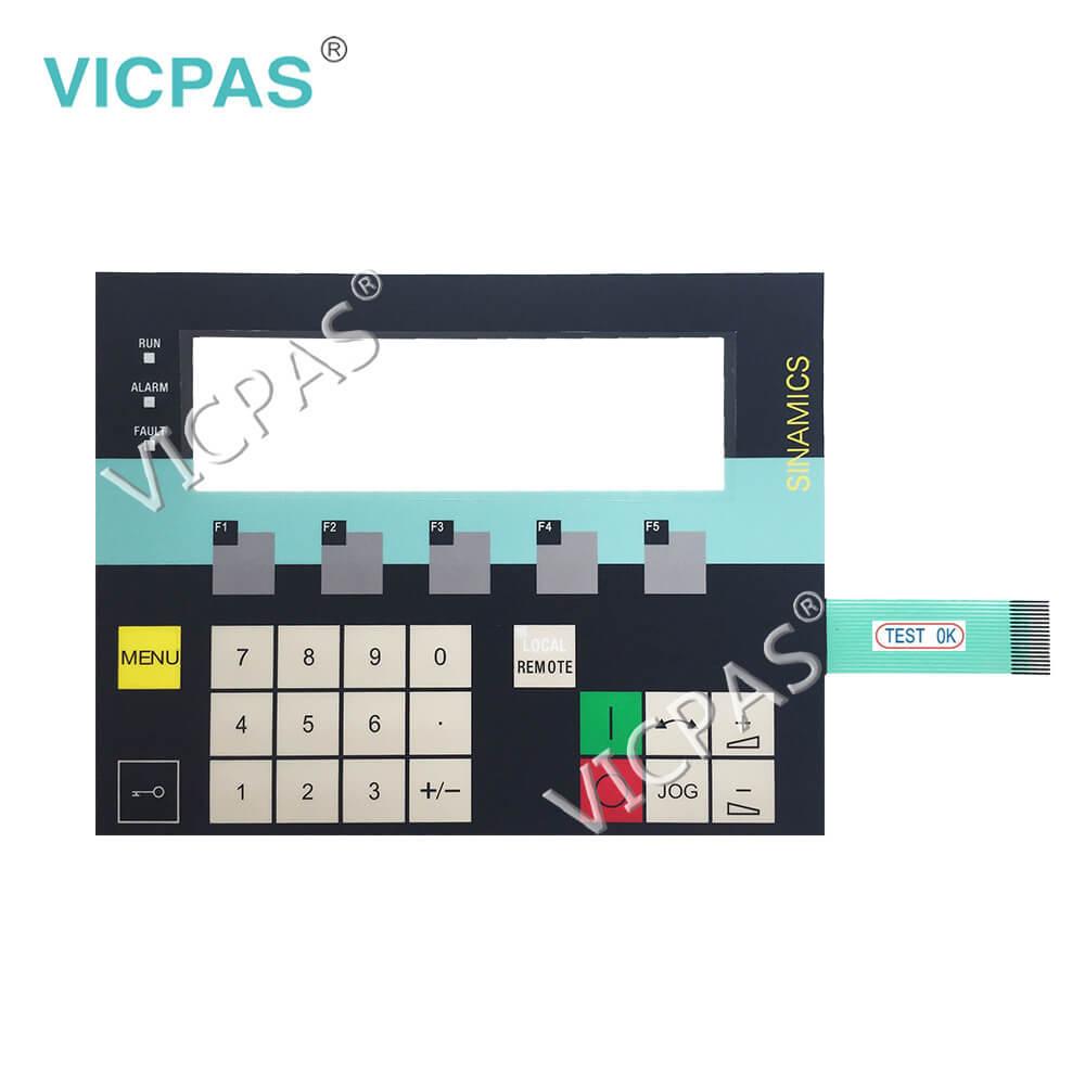 6SL3055-0AA00-4CA2 6SL3055-0AA00-4CA3 Membrane Keypad for Sinamics Operator Panel AOP30