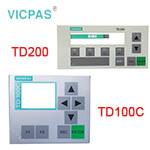 siemens TD100C/TD200 Membrane Keypad keyboard