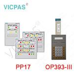OP393/PP17 membraen keyboard Keypad