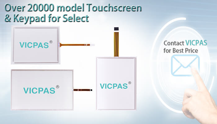 80F4-4110-58131 80F4-4110-58132 TR4-058F-13N Touch Screen Panel Glass repair