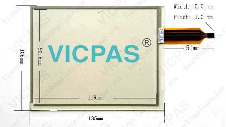 Supply Siemen ALPS 1-ALPS 16-ALPS 25 Touch Screen Panel Glass for Repair