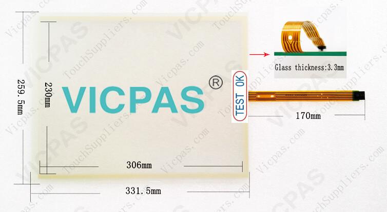 6AG7102-0AA00-1AB0 6AG7102-0AB00-1AC0 Touch Screen Panel Glass Repair