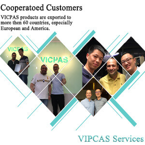 vicpas touch screen team series