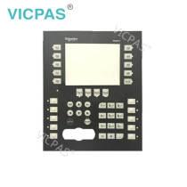Teclado de membrana para interruptor de teclado de membrana XBTGK2330