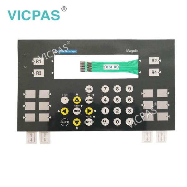 XBTPM027110 XBTPM027010 Affichage du clavier des terminaux opérateurs