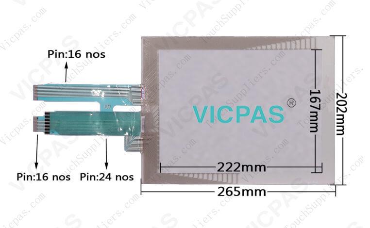 Schneider Magelis XBTG5330 XBTG5230 Touch Screen Panel