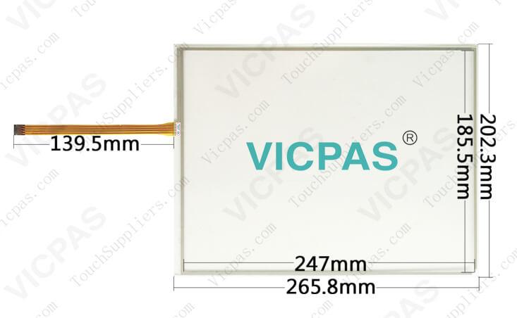 Film de protection garantie 1 an Pour Schneider XBTGT 4330 écran tactile verre