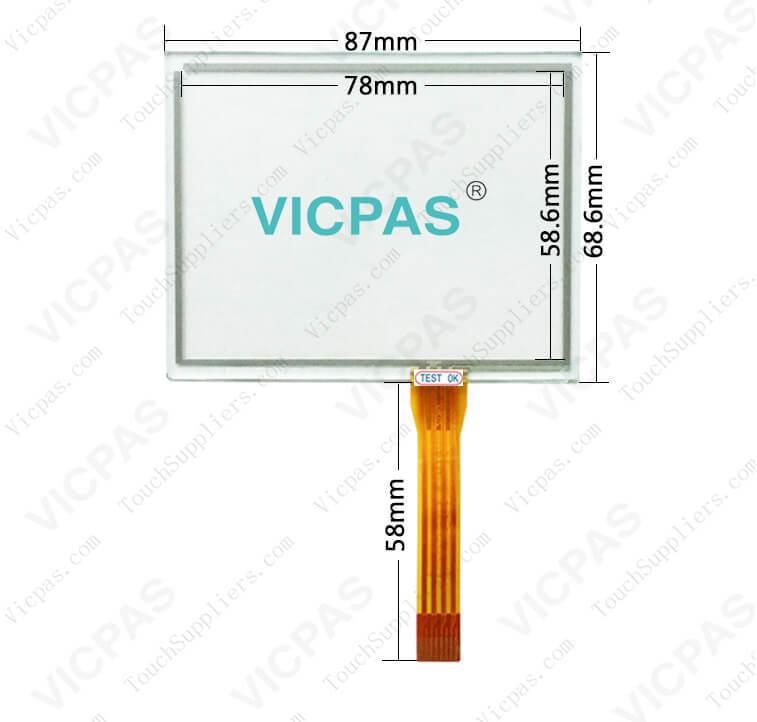 Schneider Magelis HMIGTO1300 HMI-GTO1300 Touch Screen Panel