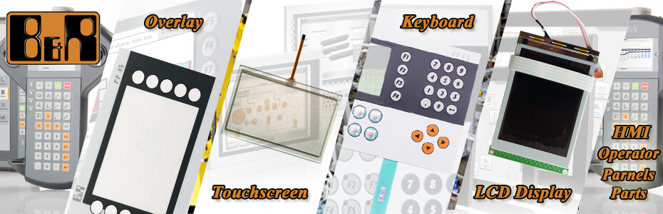B&R Industrial HMI Parts- touchscreen panel, protective film, membrane keypad, lcd display