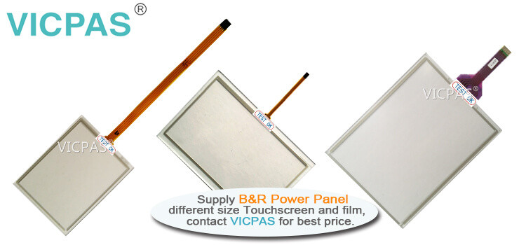 B&R Power Panel T30 6PPT30.043K-20B 6PPT30.043K-20W Touch Screen Protective Film repair replacement