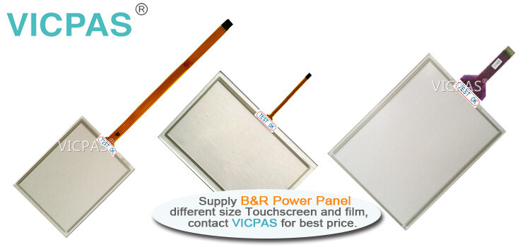 B&R Power Panel C70 4PPC70.0573-21B 4PPC70.0573-21W Touch Screen Panel Protective Film repair replacement