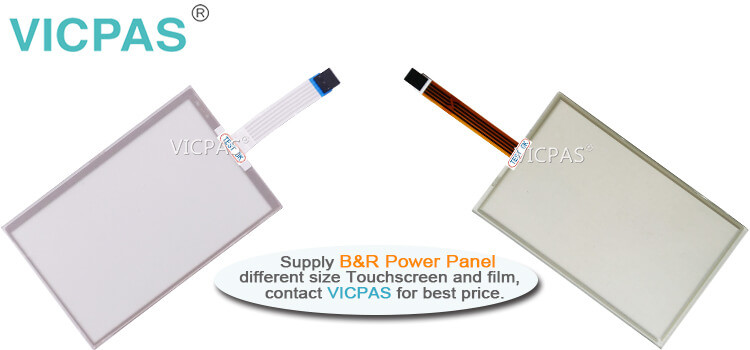 B&R Power Panel C70 4PPC70.0702-23B 4PPC70.0702-23W Touch Screen Panel Protective Film repair replacement