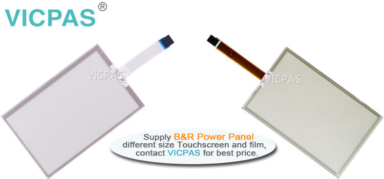 B&R Power Panel C70 4PPC70.070M-23B 4PPC70.070M-23W Touch Screen Panel Protective Film repair replacement