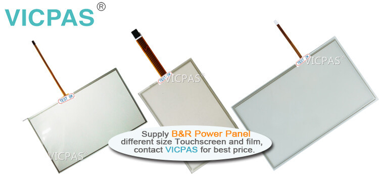 B&R Power Panel C70 4PPC70.101G-22B 4PPC70.101G-22W Touch Screen Panel Protective Film repair replacement