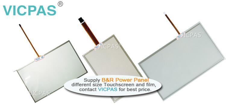 B&R Power Panel C70 4PPC70.101G-23B 4PPC70.101G-23W Touch Screen Panel Protective Film repair replacement