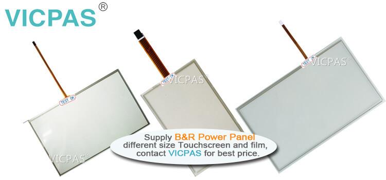 B&R Power Panel C70 4PPC70.101N-20B 4PPC70.101N-20W Touch Screen Panel Protective Film repair replacement