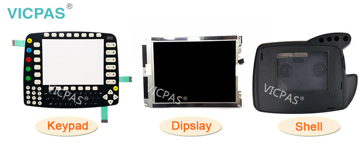 Supply KUKA Krc1 69-000-398 64-000-348 Teach Pendant Parts, Membrane Keypad, LCD Display and Protective Case Shell Replacement