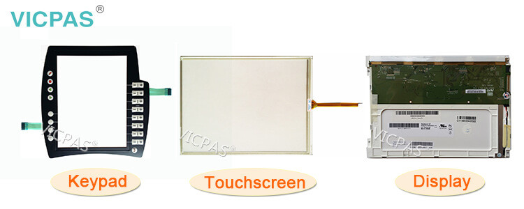 Suministro KUKA KRC4 CK KCP4 VKRC4 Teach Piezas pendientes, Teclado de membrana, Pantalla LCD y Reemplazo de carcasa protectora