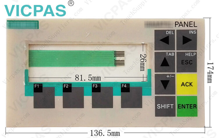 SIPLUS OP73 Siemens 6AG1641-0AA11-4AX0 membrane keypad switch Replacement
