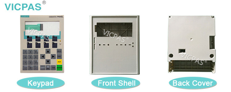 6AG1641-0CA01-4AX1 SIPLUS OP77B Siemens Operator Panel Membrane Keypad and Plastic Shell Case Replacement