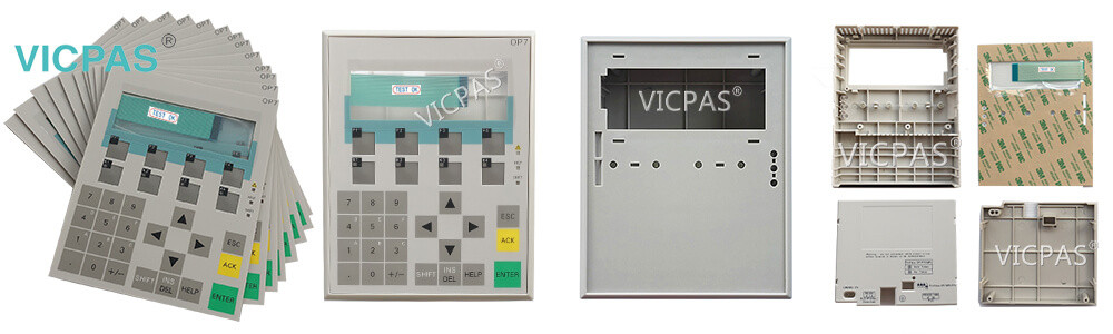 Siemens 6AV3607-1JC20-0AX2 OP7/DP OPERATOR PANEL Membrane Keyboard Keypad Switch and Plastic Case Replacement Repair