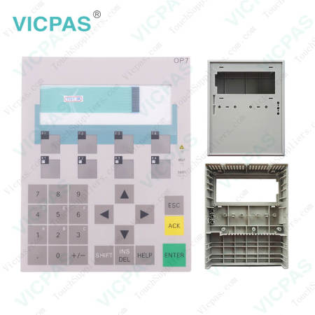 6AV3607-1JC30-0AX1 Siemens OP7 DP12 Keypad and Shell