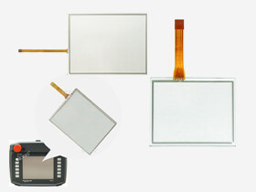 Schneider Touchscreen panel glass