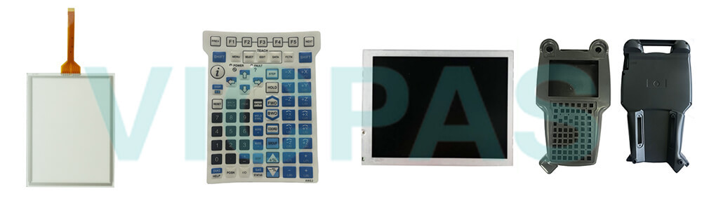 Buy A05B-2255-C103#EGN Fanuc A05B-2255-C103#JSW Teach Pendant touch screen panel keypad switch protective case cover replacement