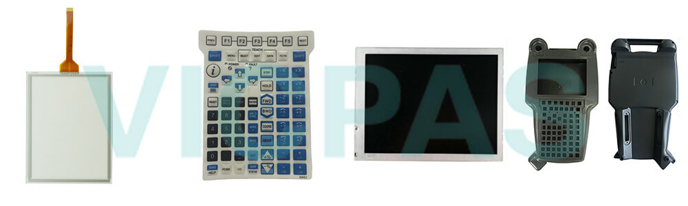 Buy Fanuc A05B-2255-C107#JGN Teach Pendant touch screen panel keypad switch protective case cover replacement