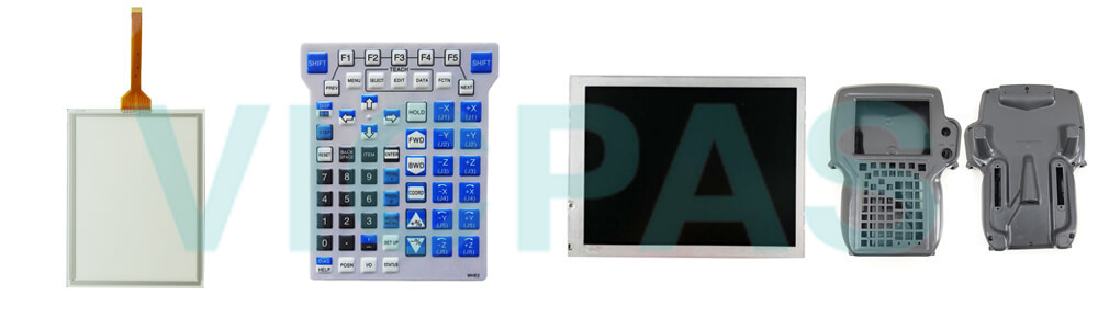 Buy Fanuc A05B-2518-C370#JGN Fanuc A05B-2518-C335#JSW Teach Pendant touch screen panel keypad switch protective case cover replacement