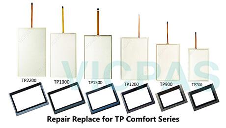 Siemens TP700 TP900 TP1000 TP1200 TP1500 TP1900 TP2200 COMFORT HMI Basic Parts