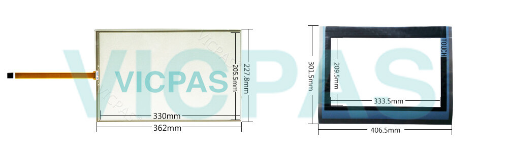 6AV2124-0QC24-1AX0 SIMATIC HMI TP1500 COMFORT PRO Touch Panel Glass, Overlay and LCD Display Repair Replacement