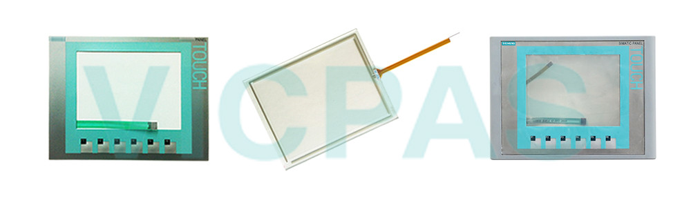 6AV6647-0AD11-3AX0 Siemens SIMATIC HMI KTP600 BASIC COLOR DP Touch Panel Glass, Overlay and LCD Display Repair Replacement