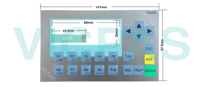 6AV6647-0AH11-3AX0 Siemens SIM HMI KP300 Basic mono PN membrane keyboard Repair Replacement