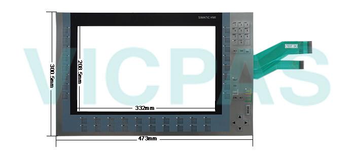6AV2124-1QC02-0AX1 Siemens SIMATIC HMI KP1500 Comfort Membrane Keyboard Repair Replacement