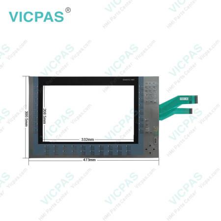 6AV2124-1QC02-0AX1 Siemens KP1500 Comfort Membrane Keypad