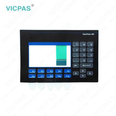 2711-K5A15 PanelView 550 Membrane Keyboard Keypad