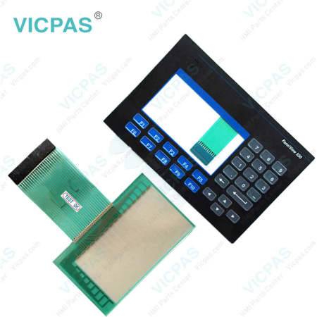 2711-B5A2 Touch Screen Panel with Membrane Keypad
