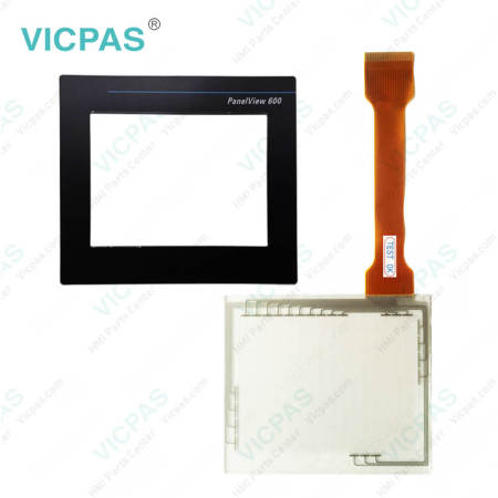 2711-T6C16L1 PanelView 600 Touch Panel Glass and Film