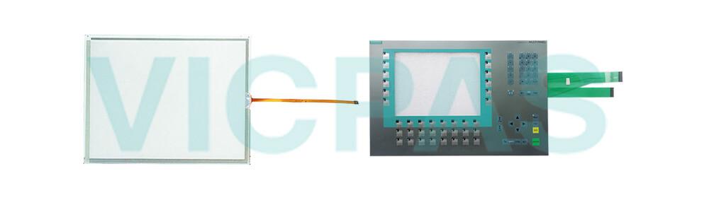 6AV6643-5CD30-0YA0 Siemens SIMATIC HMI Multi Panel  MP277 10 Touchscreen Panel Glass and Membrane Keyboard  Repair Replacement
