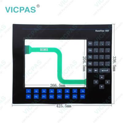 2711-K14C3 PanelView 1400 Membrane Keypad Switch