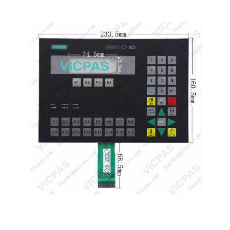 6ES7623-1DE01-0AE3 Siemens SIMATIC C7-623 Membrane Switch